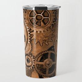 Steam Punk Gears Travel Mug