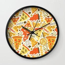 Nice Slice Wall Clock
