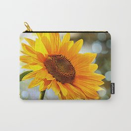 Radiant Sunflower Carry-All Pouch