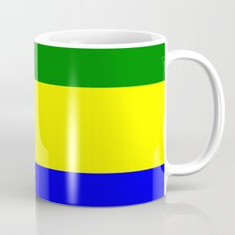 Flag of Gabon Coffee Mug