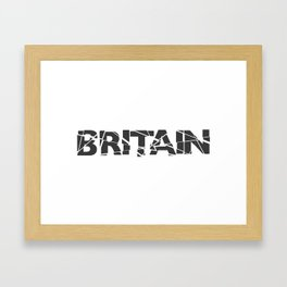 Broken Britain Framed Art Print