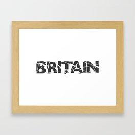 Broken Britain Framed Art Print