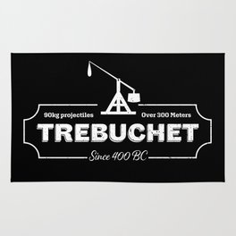 Trebuchet Grunge Design Rug