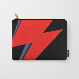 David Bowie Lightning bolt Carry-All Pouch