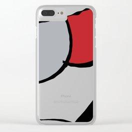 minima linea Clear iPhone Case