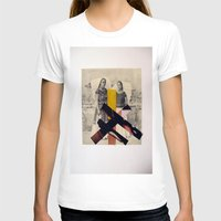 sisters T-shirts featuring Sisters by Mimi Rico