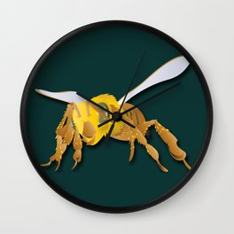 Bee - 'A Fantastic Journey' Wall Clock