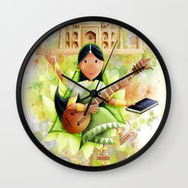 SARASVATI Wall Clock