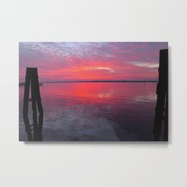 Caloosahatchee Sunset Metal Print