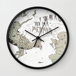 and sailors believed them... Wall Clock