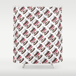 Nuts for Nutella Shower Curtain
