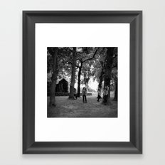 And She Was Framed Art Print
