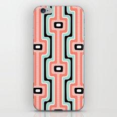 Coral Stripe Mod iPhone & iPod Skin