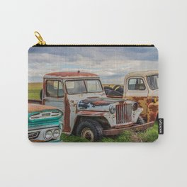 Rusty Car Row 3 Carry-All Pouch