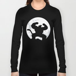 Night Monkey Long Sleeve T-shirt