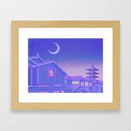 Kyoto Twilight Framed Art Print