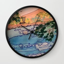 Annecy Wall Clock