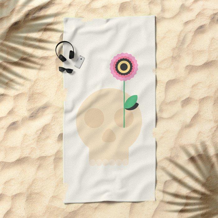 Life After Death Beach Towel