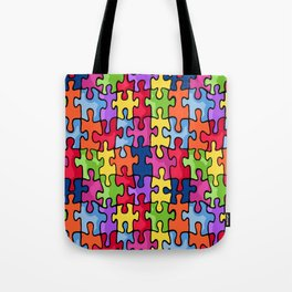 Jiggy puzzle Tote Bag