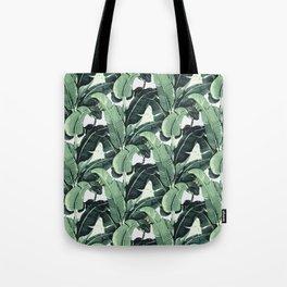 Tropical Banana Leaf Tote Bag