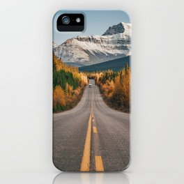 Fall in the Rockies iPhone Case