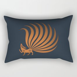 The Fox with Nine Tails Rectangular Pillow