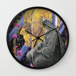 Two Souls Wall Clock