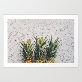 Pineapple Luxe Art Print