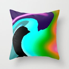 Planet J Throw Pillow