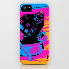 And the Puck Stops Here! - Hockey Goalie iPhone Case
