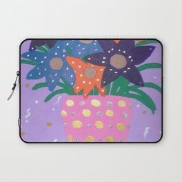Fiesta Flowers Modern Still Life Laptop Sleeve