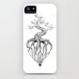 Heart Root iPhone Case