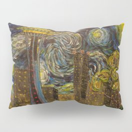 Dedication to Van Gogh: Seattle Starry Night Pillow Sham