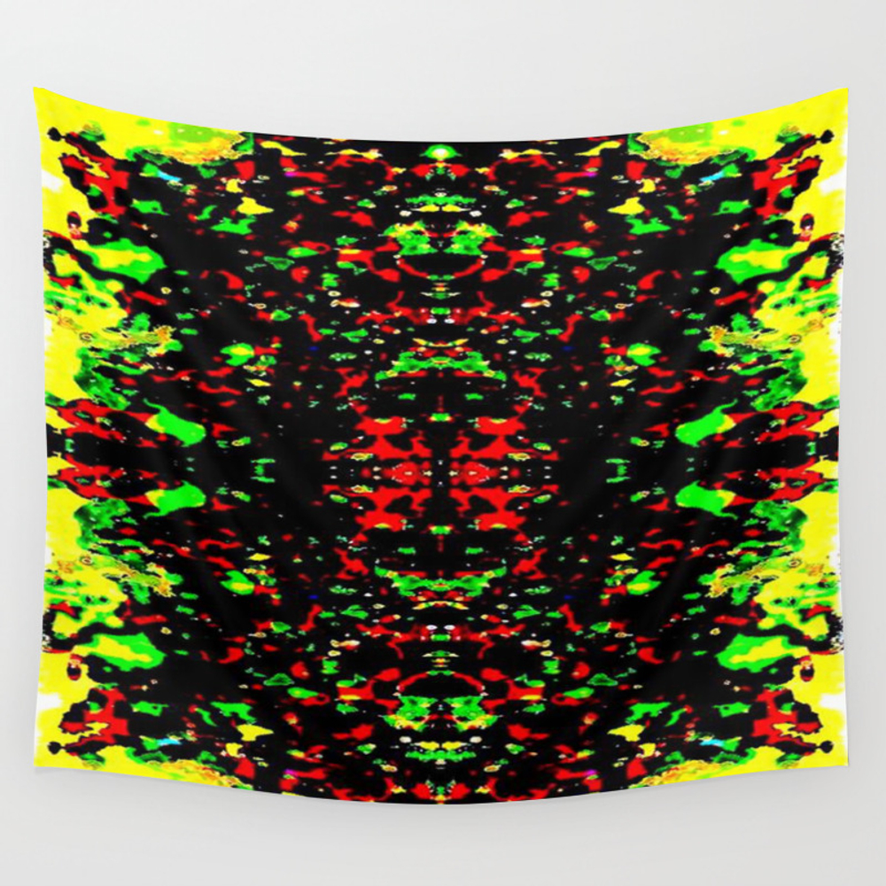 Vibrant Matter Wall Tapestry by Phinilez TPS3798991