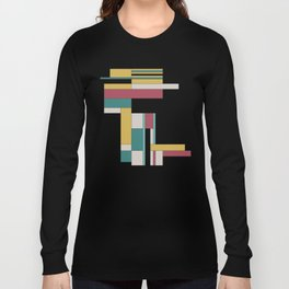 Random Rectangles Long Sleeve T-shirt