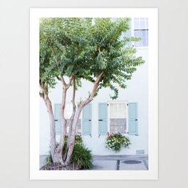 The Teal House - Charleston, SC Art Print