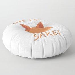 Oh for Fox Sake! Floor Pillow