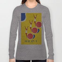 """EX-JU poster """"AEROPUT"""" Long Sleeve T-shirt"""
