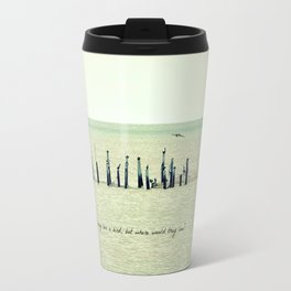 A Fish May Love a Bird... Travel Mug