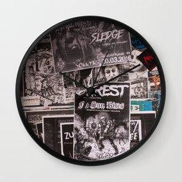 Punk Wall Wall Clock