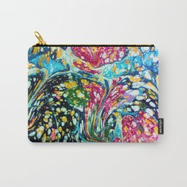 Spotted & Marbled Carry-All Pouch