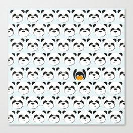 Panda'monium Canvas Print