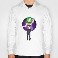 artrave Hoodies featuring artRAVE Aura by Aldo Monster