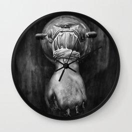The hand on the door Wall Clock