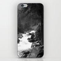 archan nair iPhone & iPod Skins featuring Whiteout Yosemite-2 by Deepti Munshaw