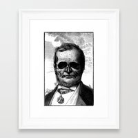 demon Framed Art Prints featuring Demon by DIVIDUS