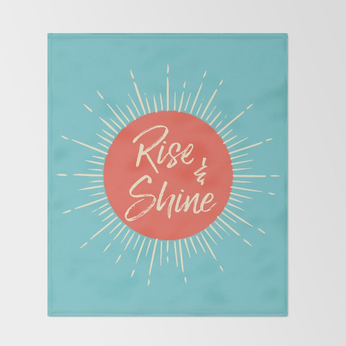 Rise & Shine Throw Blanket