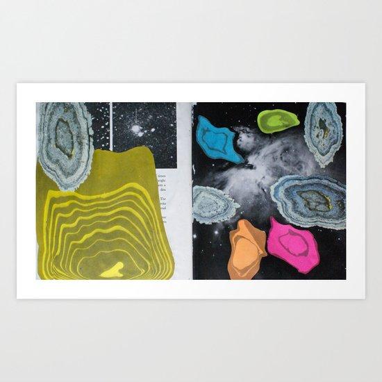 Universal Patterns Art Print