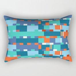Chopin Fantaisie Impromptu (Anemone & Coral Colours) Rectangular Pillow