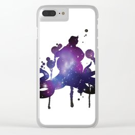 Starry Galactic Ursula Clear iPhone Case